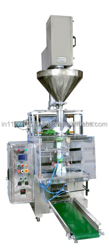 Fully Automatic Vertical Form Fill Seal Machine with Auger filler and impulse type sealing system for Powders