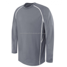 long sleeve breathable protection soccer uniform for goalkeeper
