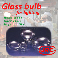 Various types of glass bulbs for fishing lights used in fishing boat