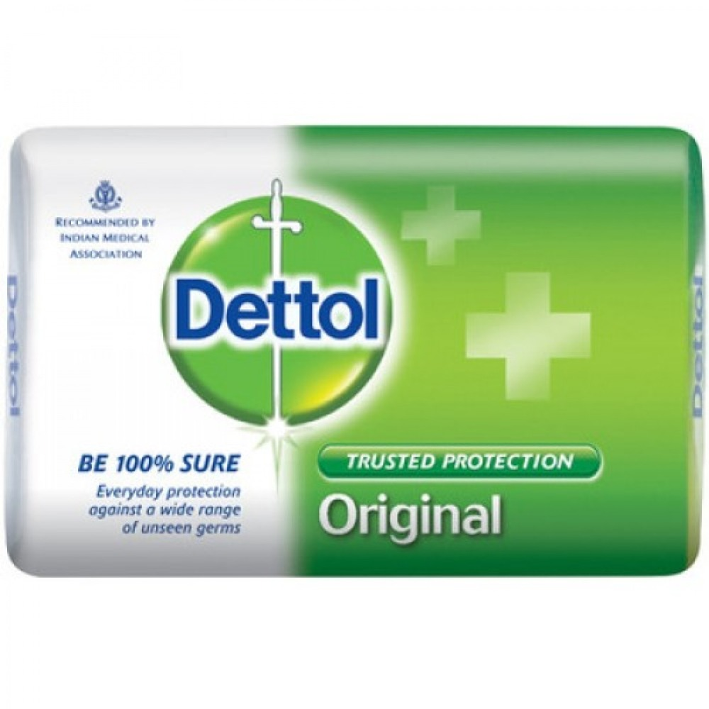 Original Dettol Antibacterial Bar Soap