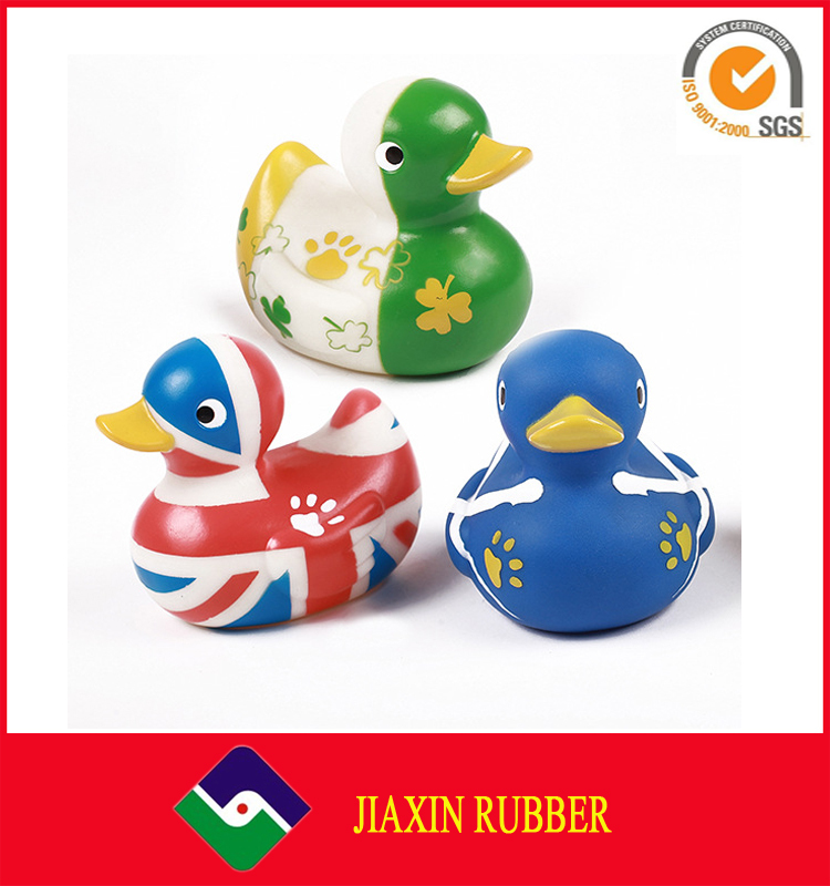Hot Printed Custom Logo Rubber Promotional Bath Duck