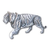 3D WHITE TIGER WOOD PUZZLE