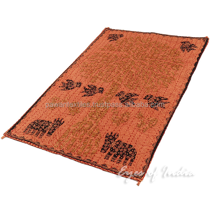 Jaipur Exporter Indian twin Size 100 % Cotton Well hanging Mandala Tapestry bohomain bedspared blaknt yoga mats