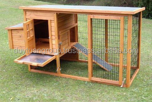 pet houses, chicken coop, chicken house/ Popular deluxe outdoor wooden chicken coop with wheel