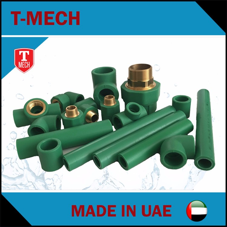 PN25 mould injection ppr fittings for potable water ppr pipe and fitting