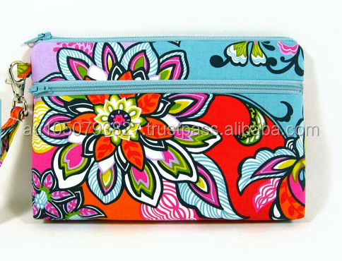 phone purse, cell phone wristlet , credit card wallet, makeup bag, zipper pouch