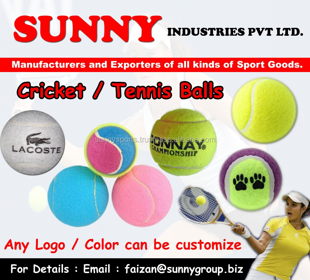 head tennis ball / Rubber Ball / Cricket Ball / Pet toy / Custom Logo Tennis Ball / Tennis Ball / Tennis Ball in all colors /