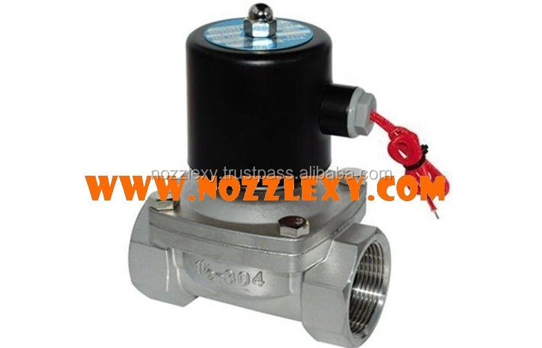 Stainless Steel Solenoid Valve for Water Fountain Stainless Steel Fountain Nozzles Outdoor Music Water Fountain