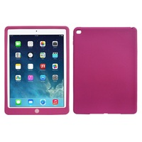 Silicone Protective Tablet Back Shell case for iPad Air 2