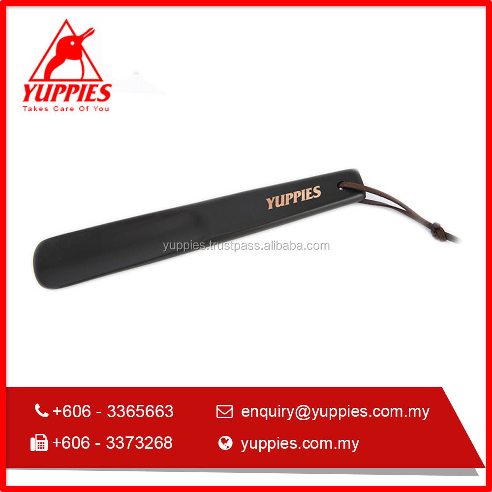 New Yuppies 2017 Hot Selling plastic Shoe Horn with logo (23cm)