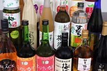 Large range of Chinese plum wine of popular brands from Japan