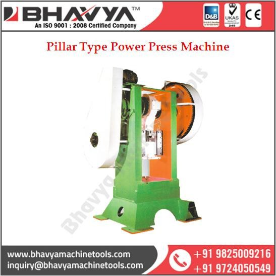 Trouble Free Running Power Press Machine From India