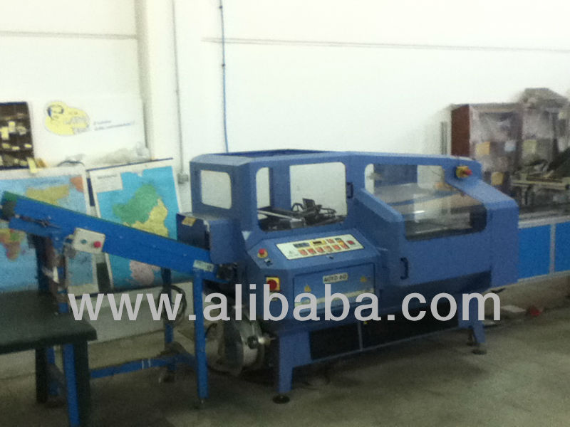 Used packaging machine PACTUR mod. Lady Pack Auto 60 with inclined motorized belt to unloading packaged products
