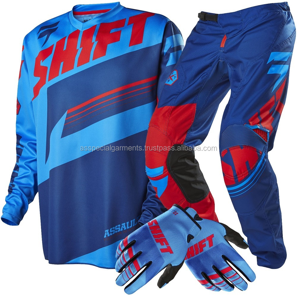 NEW 2016 Custom Mx Jersey Pants Motocross Dirt Bike Gear Set Motocross Jersey and Pant Off-Road Sublimated Mx Jersey and Pant