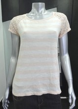 Branded Ladies Tops with Crochet Sleeves