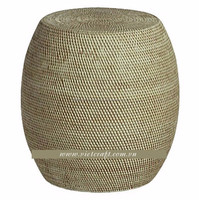 Bamboo chair handmade in Vietnam round shape nice design bamboo table