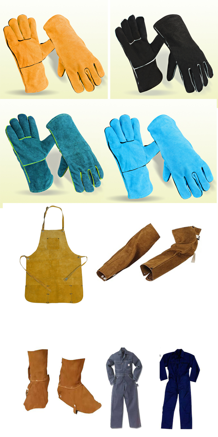 Hot Sale Cow Split Leather Welding Gloves