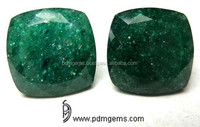 Green Aventurine Gemstone Antique Cushion Cut For Gold Jewellery From Manufacturer/Wholesaler