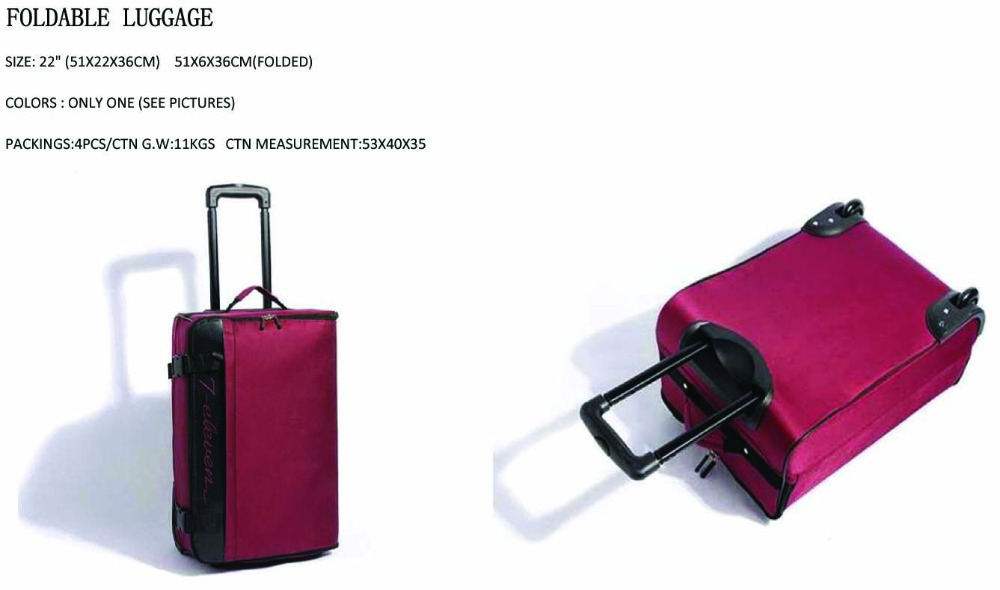 FOLDABLE LUGGAGE