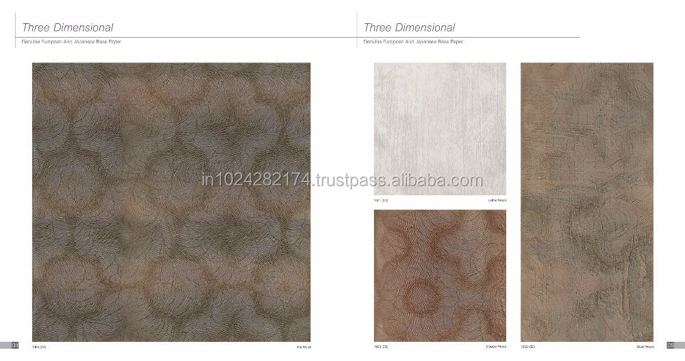 High Pressure Decorative Laminate Sheet(HPL Sheet) for Furniture 1904(3D)
