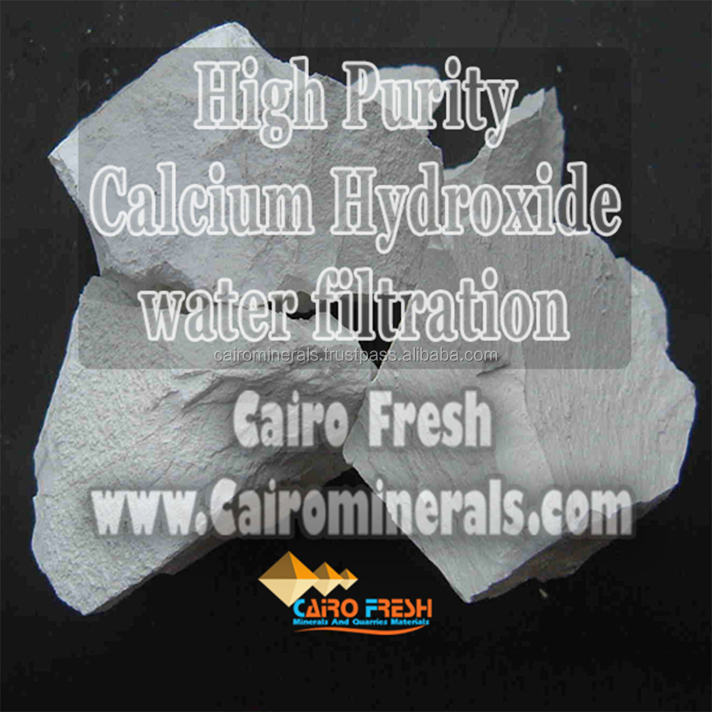 High Graded Hydrated Lime For Steel Galvanization