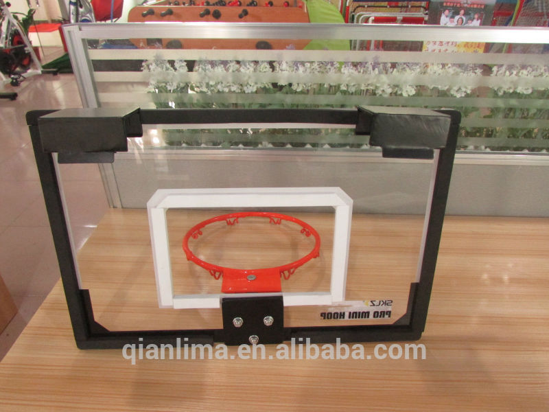 Easy Moveable Indoor Miniature Basketball hoop, Backboard with Hoop for kids practising