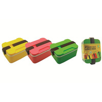 50pcs Snap & Stack Eco Lunch Box (LD0043)