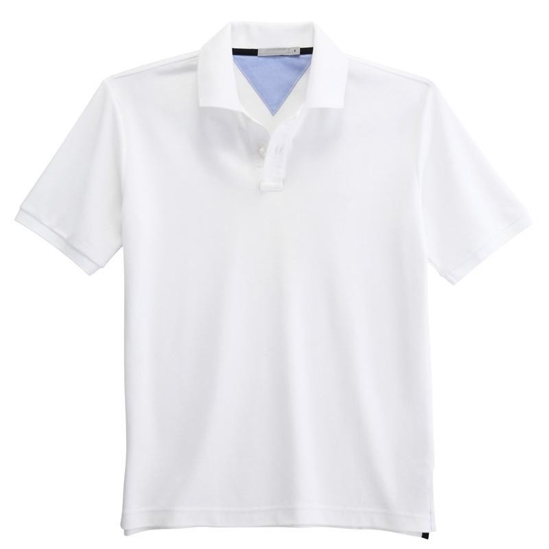 men summer cotton polo t-shirt