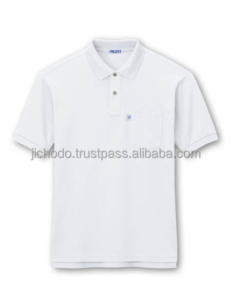 C50 E50 / Eco-friendly polo shirts with short sleeves ( Spring and Summer ). Made by Japan