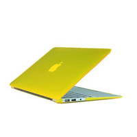 "Protective High Quality Crystal Clear Hard Case for macbook 12"" with 16 Colors"