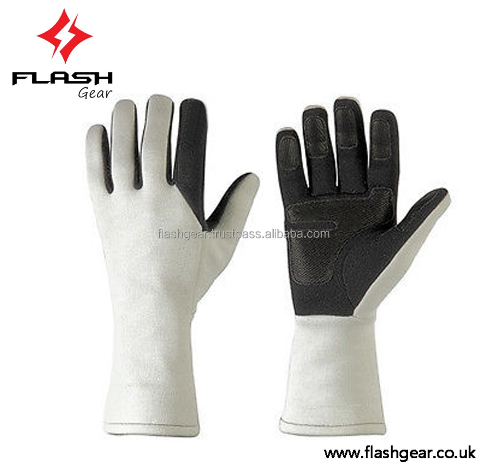 NEW FLASH GEAR Kart Race Gloves, Level 2 CIK/FIA Kart Race Gloves, Young Car Driving Gloves, Adult Karting Championship Gloves