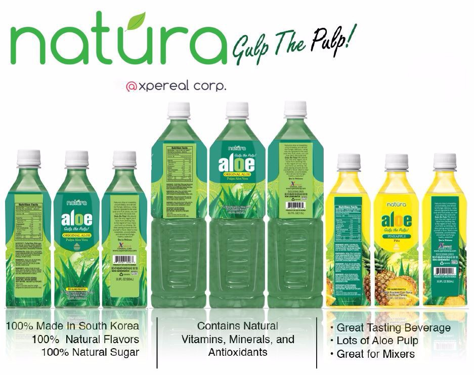 Natura Gulp the Pulp Aloe