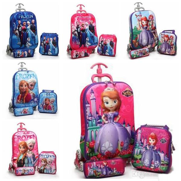 Barbie Doll Picture School Trolley Bag - Buy Kids Trolley School ...
