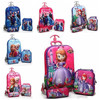 Barbie doll picture school trolley bag