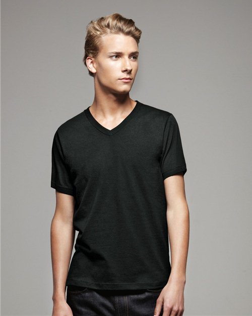 V-neck plain black cotton Alibaba new 2016