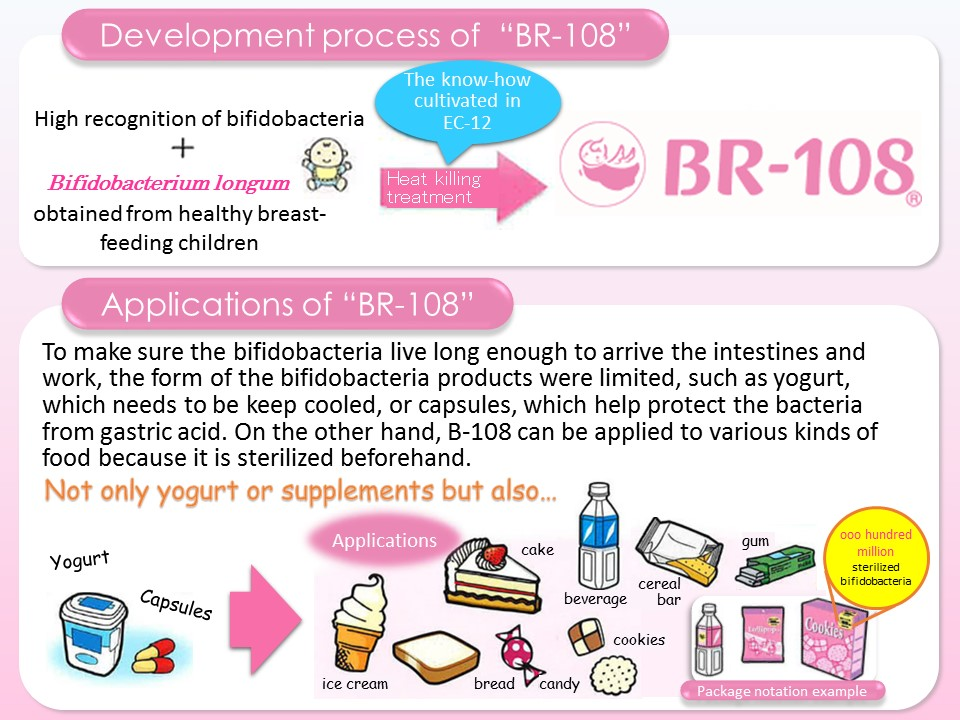 Japanese High Quality Heat Killed Bifidobacterium Raw Material Powder Made In Japan For Health Foods And Dietary Supplement