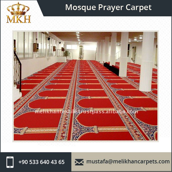 Mosque Masjid Prayer Green Carpet