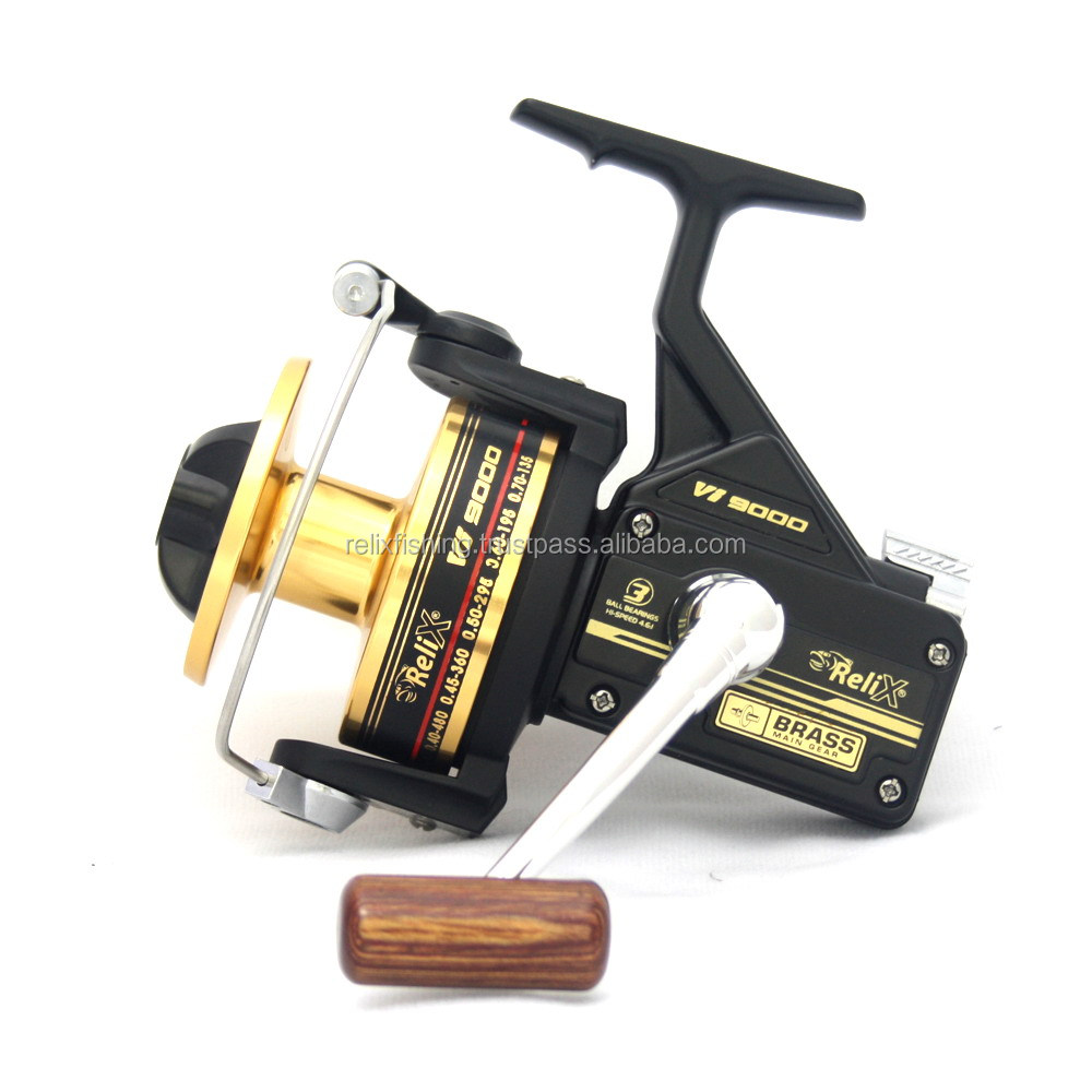 Relix Vi (Gold) 9000 Spinning Reel