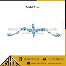 Non-toxic Bridal Bindi Gem Sticker / Fancy Crystal Bridal bindi Sticker