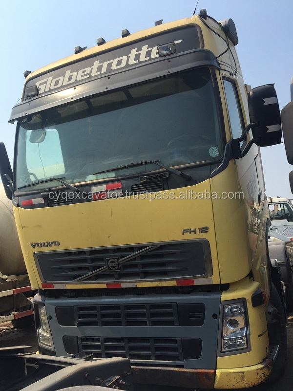 Used VOLVO FH12 Tractor for sale volvo FM9/FM12 ISUZU Mixer