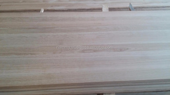 white oak solid edged glue panel
