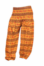 Indian 100 % Cotton Harem Trousers Aladdin Casual Hippie Yoga Pant New