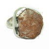 Passion !! Sun Sitara Fancy Shape Rough Stone Silver Rings_ Rough Stone Silver Jewelry_Designer Rough Stone Rings