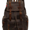 newest custom canvas backpack waxed blank canvas backpack bags