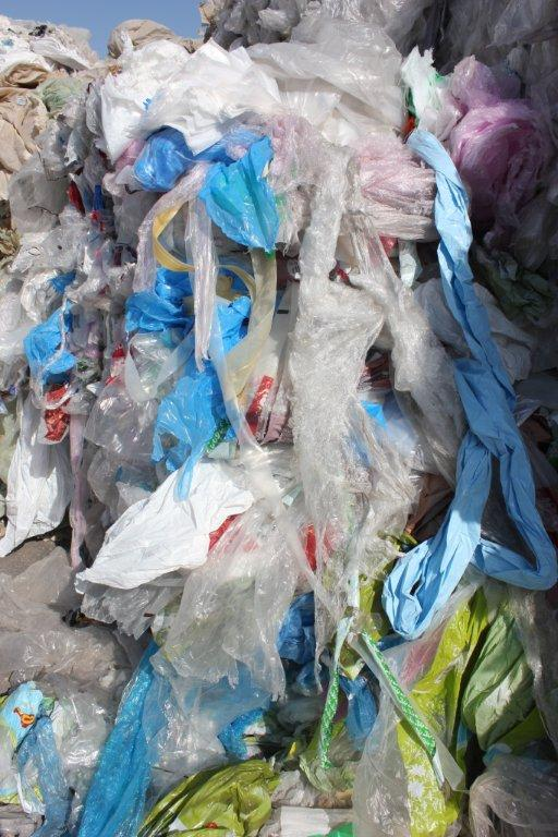 PLASTIC WASTE FOR SALE COLORED LDPE (BALED)