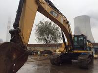 used cat excavator 345d large construction machine
