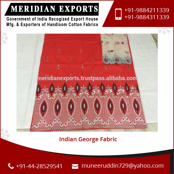 Direct from Factory Supply of Indian Style Georges Fabric