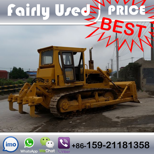 Used Cat D6D Dozer With 3 Shank Rippers