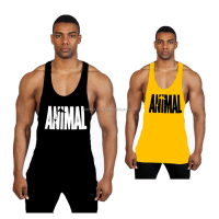 Men's Gym Tank Tops Bodybuilding Muscle Fitness Sleeveless Tank mens running