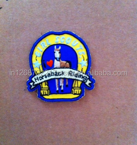 HANDMADE EMBROIDERY BADGES, EMBLEM